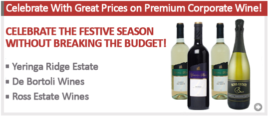 Celebrate With Great Prices on Premium Corporate Wine!