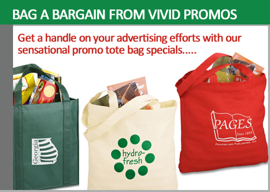 Promotional Tote Bags - Vivid Promos