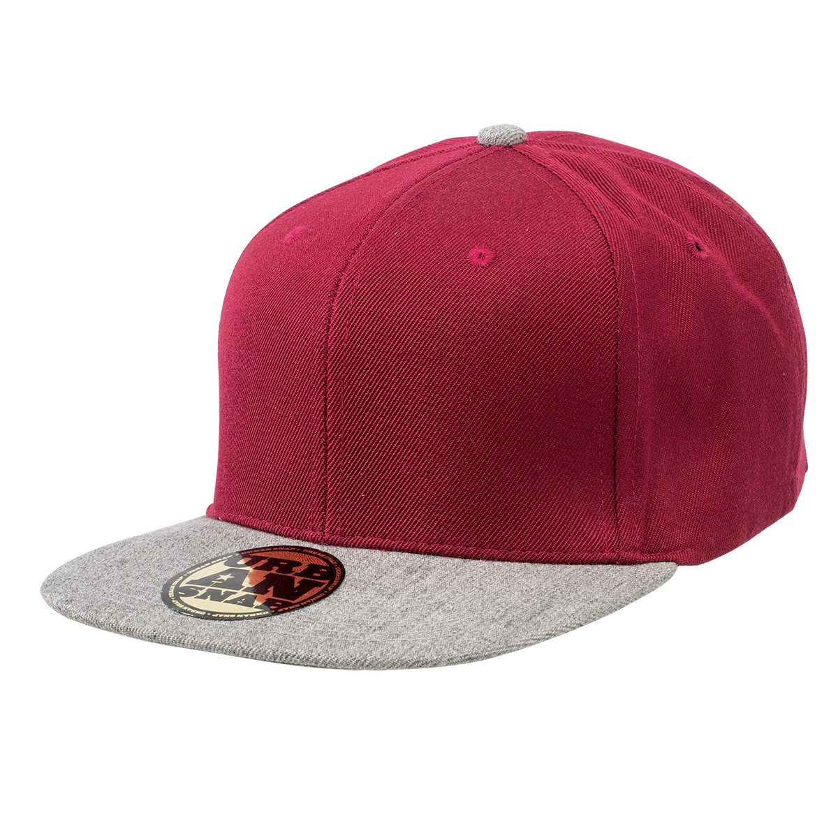 Fashion Cap with Snap Closure