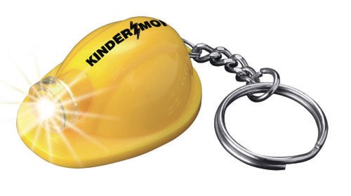 Promotional Hard Hat Keytag