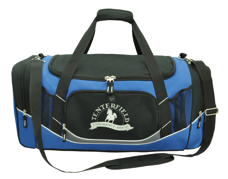 Embroidered Large Sports Bag