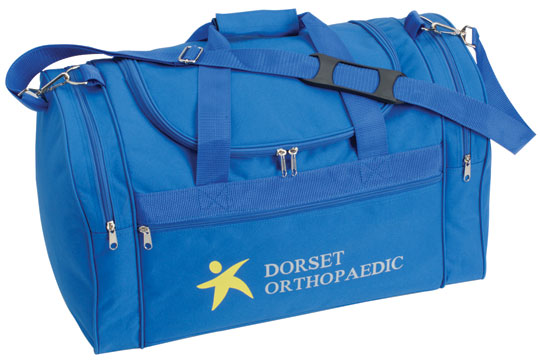 School Sports Bag with Embroidery