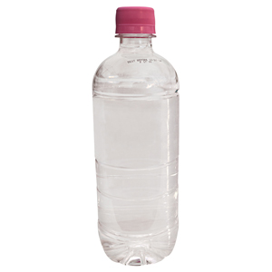 Natural Spring Bottled Water with Printed Label