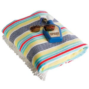 Promotional Striped Towel