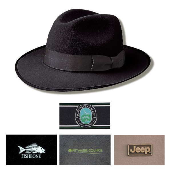 Fashion Akubra Hat with Hat Band