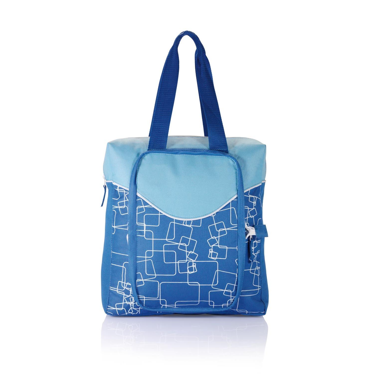 Cooler Shopping Bag with Zip up Pocket
