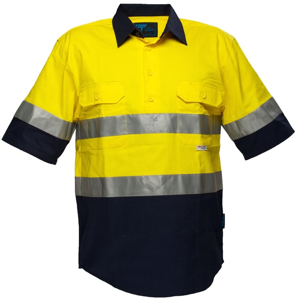 Short Sleeve Cotton Drill Shirt
