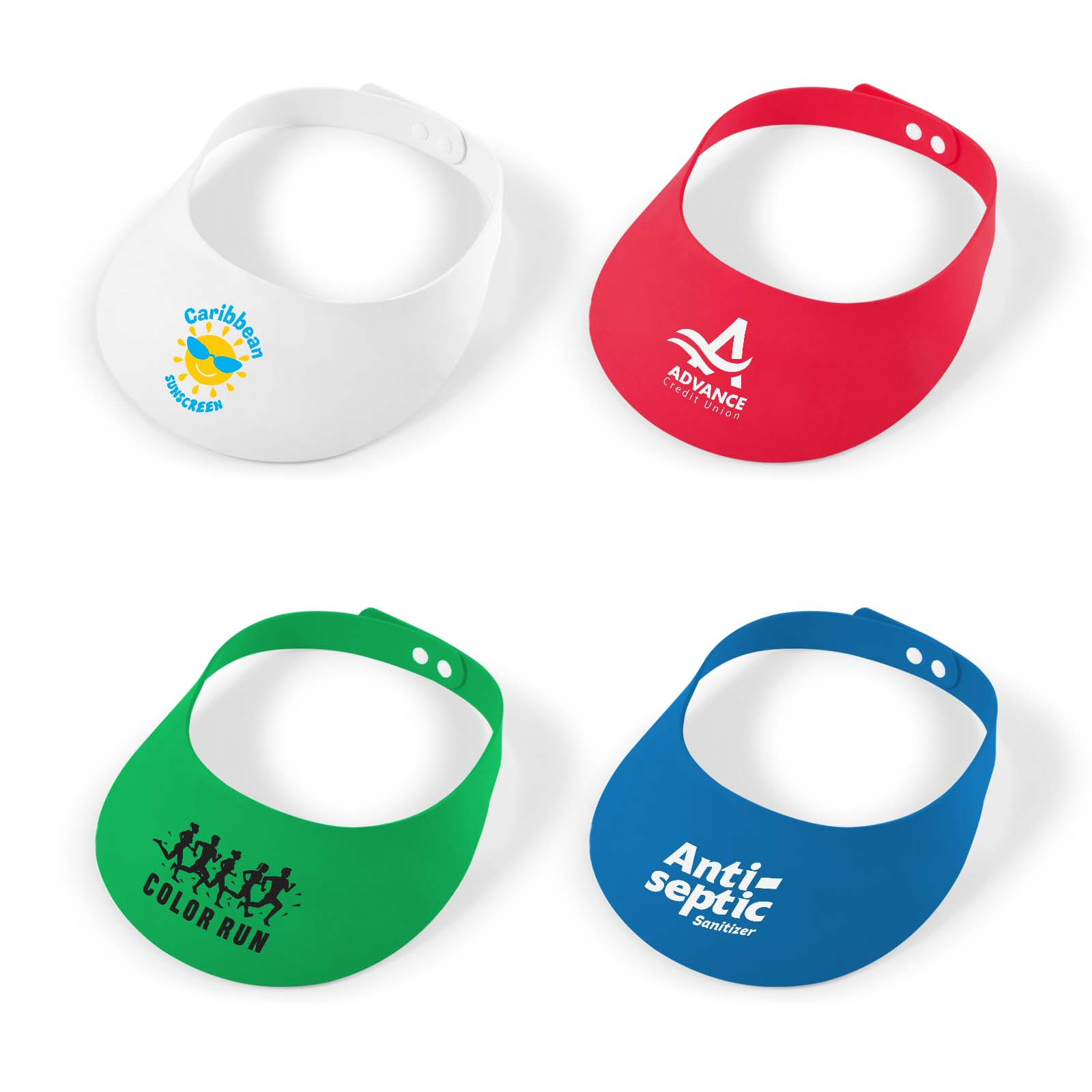 Foam Visors for Outdoor Events