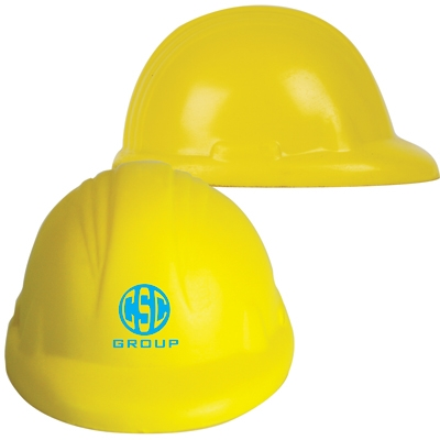 Hard Hat Squeezy Stress Toy