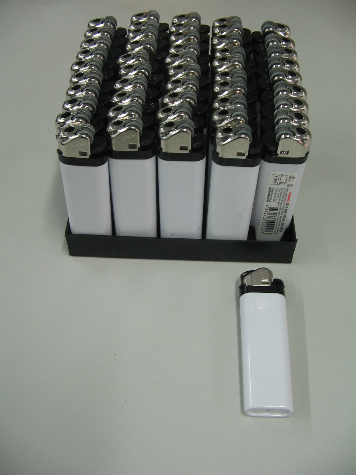 Printed Lighters White