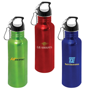Coloured Metal Drink Bottle