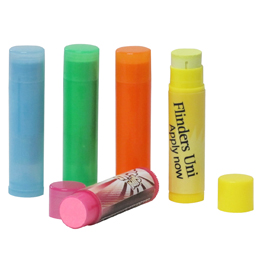 Coloured Face Paint Tube with Label