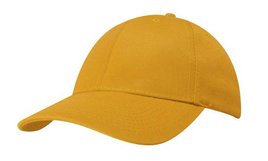 Recycled Eco-Friendly Promotional Cap in Yellow