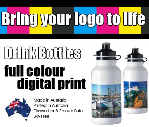 Revolutionary Full Colour Printing on Promotional Drink