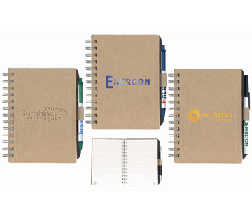 Eco Notepad with Chipboard Cover