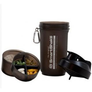 Travel Protein Shaker with Screw Off Compartments
