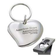 The Cuore Key Chain Laser Engraved