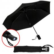 *NEW* Umbrella With LED Flashlight & Pouch