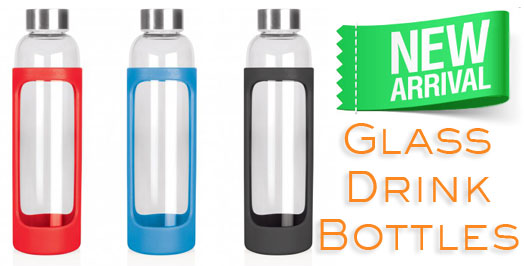 Eco Glass Drink Bottles