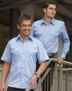 Mens Epaulette Shirt - Short Sleeve