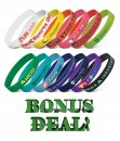 Silicone Wrist Band | Bonus Deal