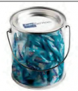 Big PVC Bucket Filled With Mentos 350g