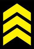 Rectangle Chevron Yellow 2