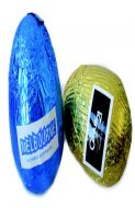 60G HOLLOW EASTER EGG WITH STICKER