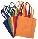 V-Shaped Shopping Tote Bag