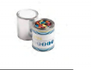 Paint Tin Filled With Choc Beans 250g (Mixed Colours)