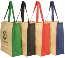 Jute Panelled Carry - All Bag