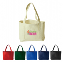 Heavy Duty 380ml Cotton Canvas Open Boat Tote