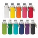 Venus Glass Drink Bottle With Soft Neoprene