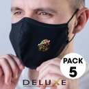5 Pack - Deluxe Face Masks