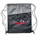 Silver Strider Drawstring Bag