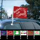 Car Window Mounted Flag