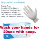02. Disposable Latex Gloves