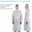 Disposable Protective Coat with Optional Hood