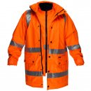 4-in-1 Combination Jacket With Cross Back Reflective Tape & HV21 Vest