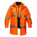 3 in 1 Combination Jacket With reflective Tape & HV315 Jumper