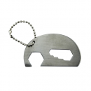 Elephant Bottle Opener Key Ring