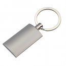 Silver Pillow Key Ring