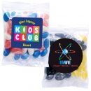 Corporate Colour Jelly Beans In 60 Gram Cello Bag