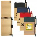Tradie Cardboard Notebook with Pen (Stock)