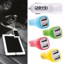 Dual USB Outlet Car Charger (Indent)