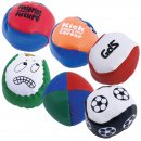 Custom PVC Hacky Sack / Juggling Ball (Indent)