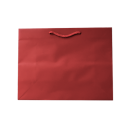 Laminated Matte Ruby Red Paper Bag