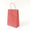 Red Spot Kraft Junior Paper Bag