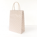 White Spot Kraft Junior Paper Bag