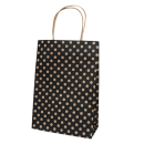 Black Spot Kraft Junior Paper Bag